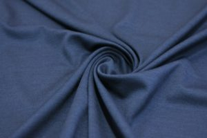 Ткань джерси цвет темно-синий