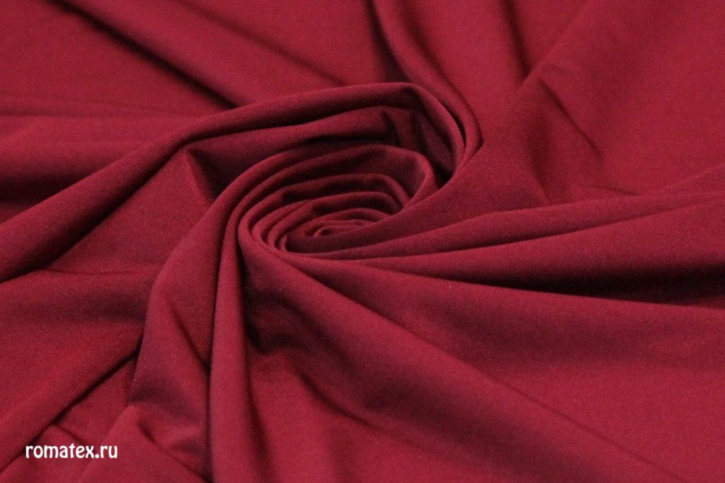 Ткань масло кристалл цвет бордовый