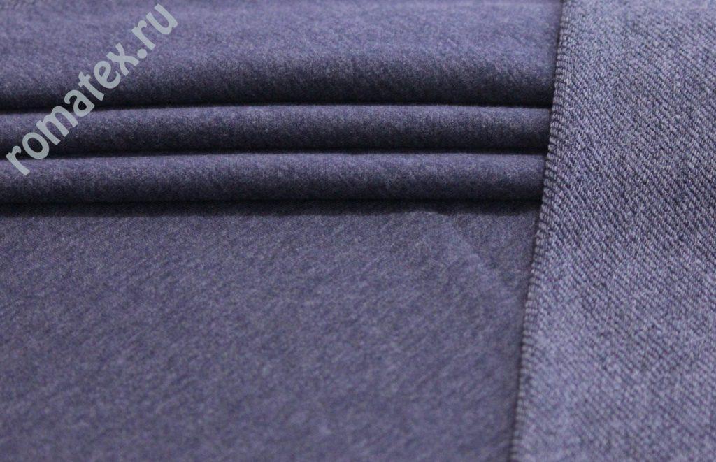 Ткань кашкорсе цвет джинс