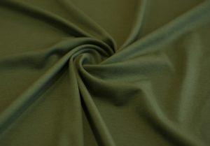 Ткань джерси цвет оливковый