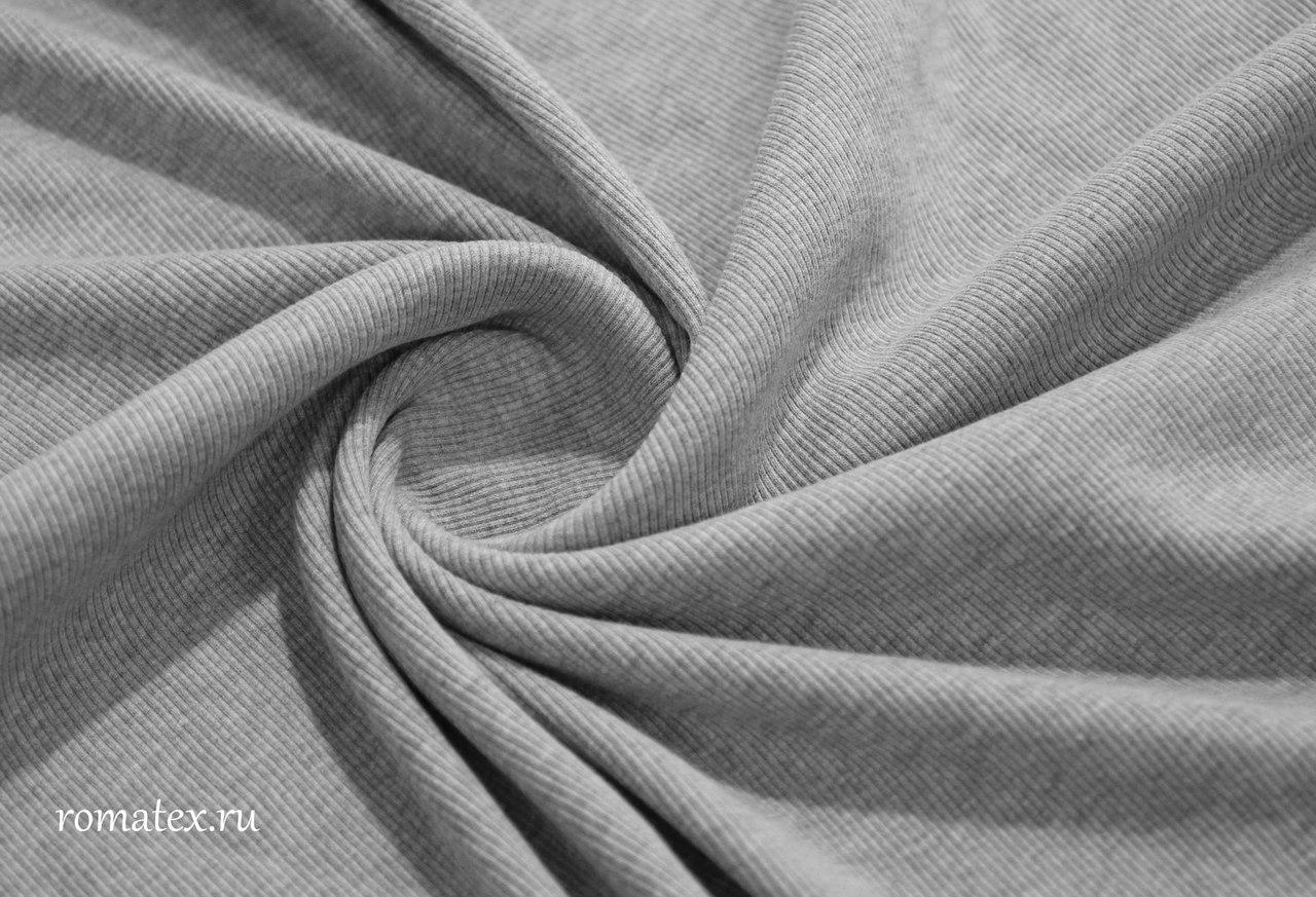 Ткань кашкорсе цвет светло-серый