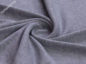 Ткань кашкорсе цвет темно-серый