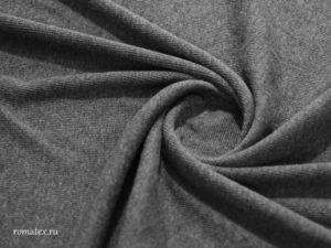 Ткань кашкорсе цвет антроцит