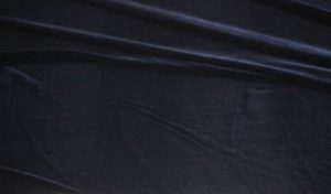 Ткань бархат стрейч цвет темно-синий