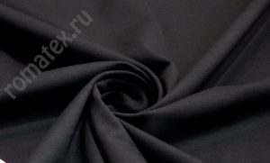 Ткань нейлон рома чёрный