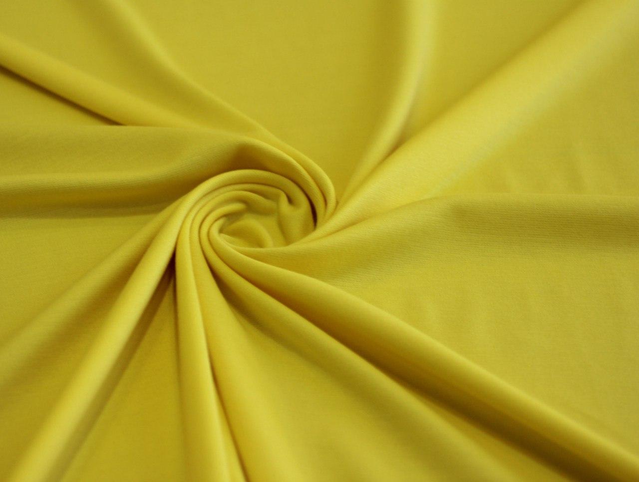 Ткань джерси цвет жёлтый