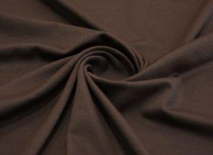 Ткань джерси цвет коричневый