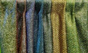 Ткань трикотаж глиттер цвета в ассортименте
