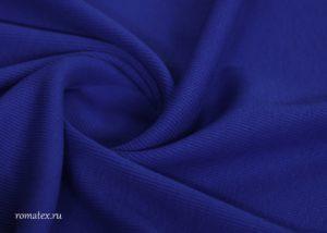 Ткань кашкорсе цвет васильковый
