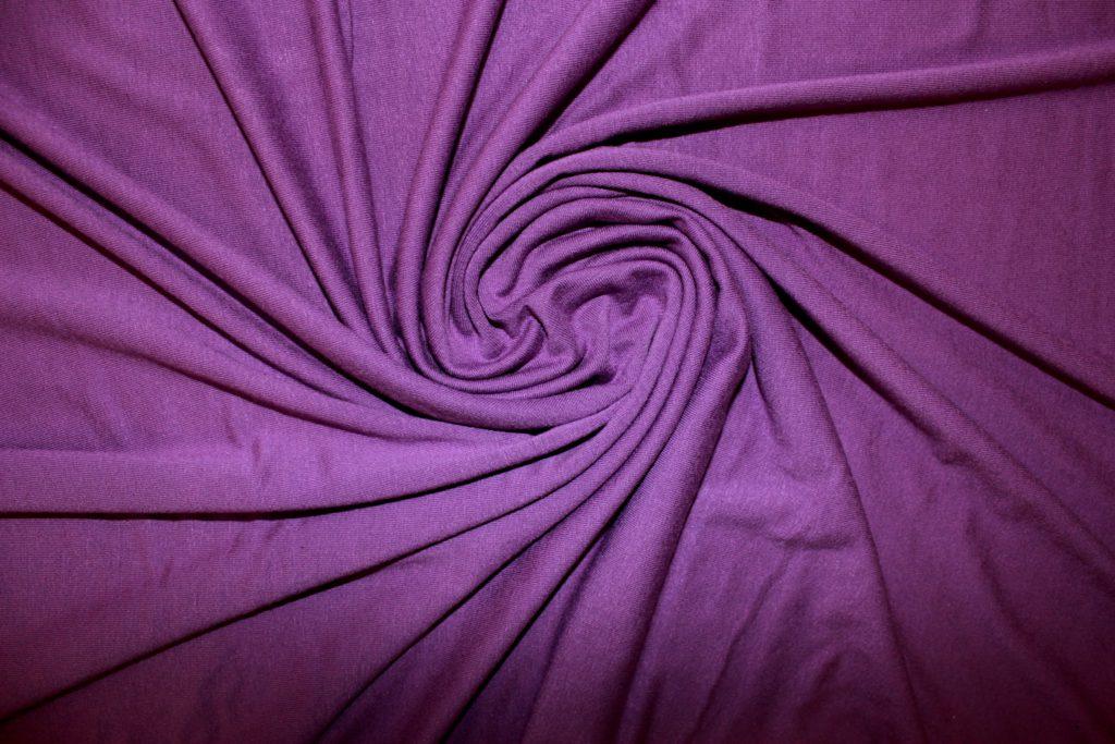 Ткань трикотаж вискоза цвет фиолетовый
