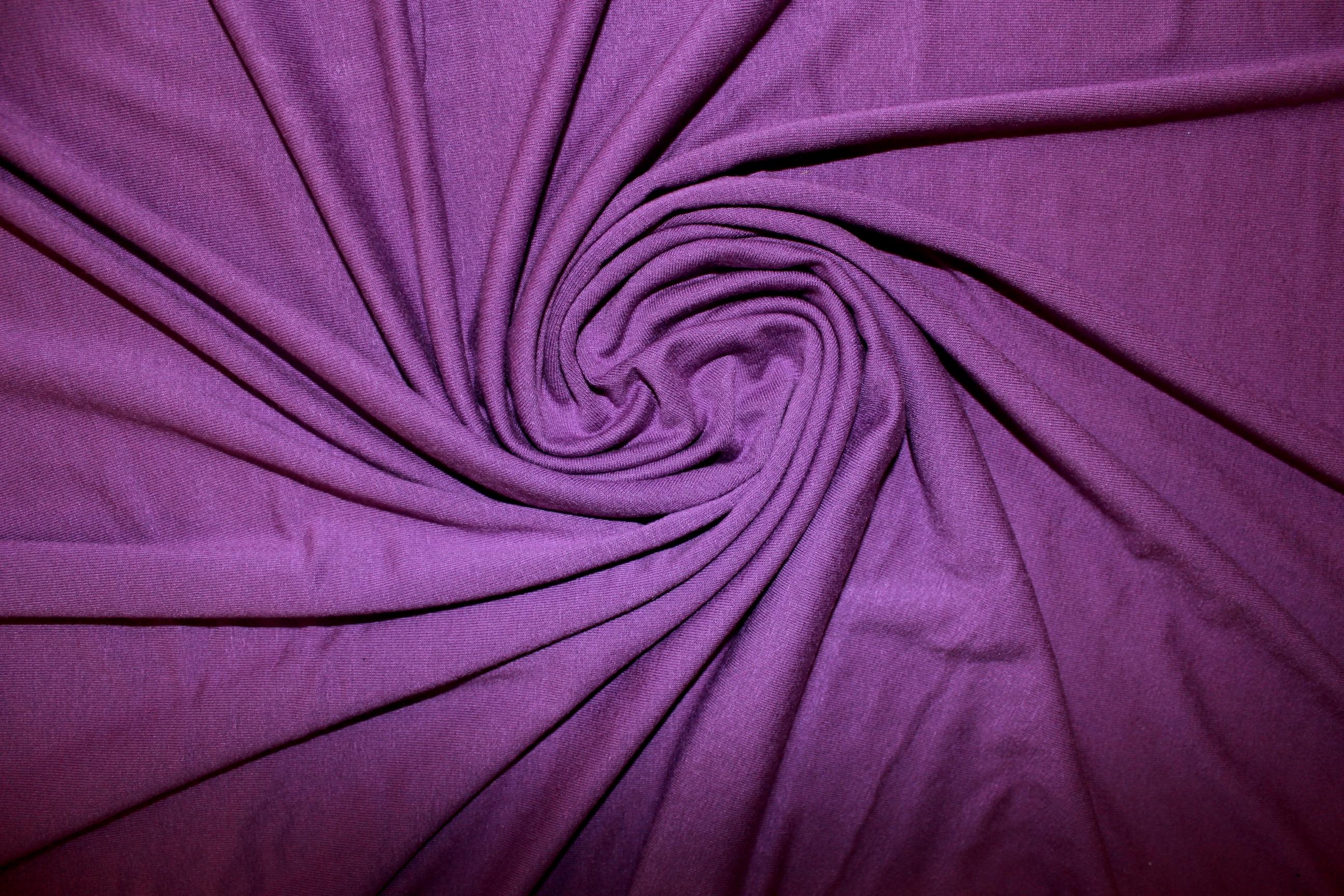 Трикотаж вискоза цвет Фиолетовый