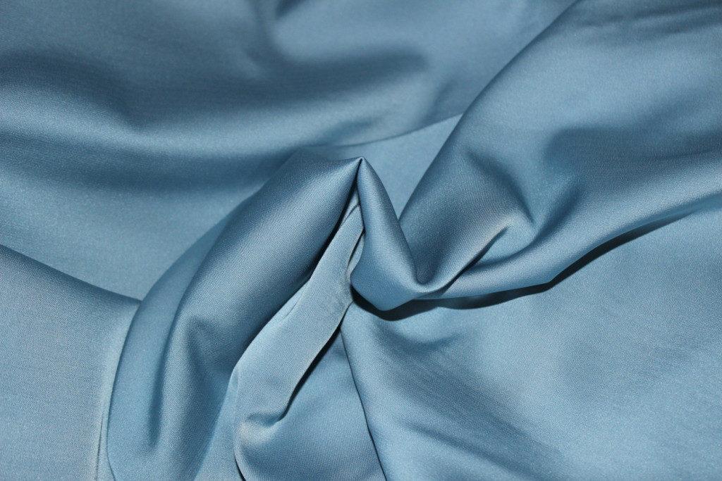 Ткань армани шелк цвет голубой