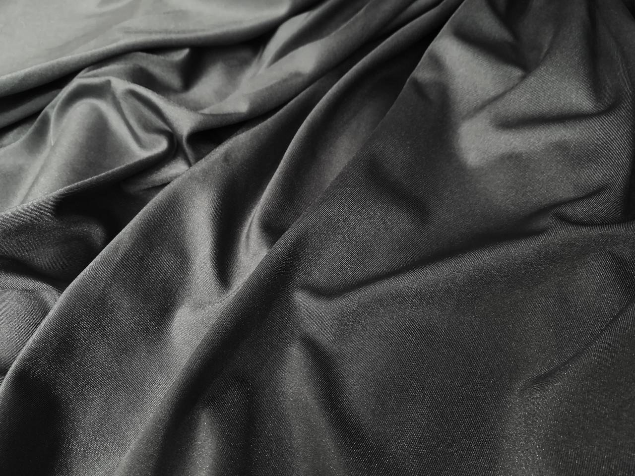 Ткань бифлекс цвет темно серый