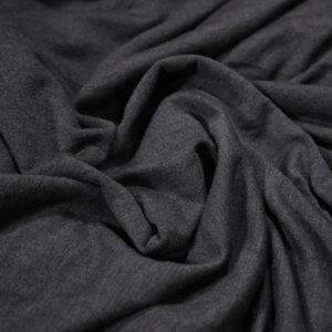 Ткань академик цвет темно серый меланж