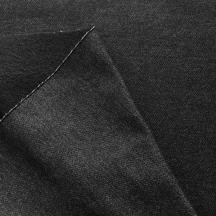 Плотная Джинса цвет черный