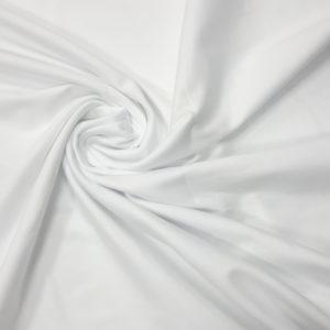 Ткань рибана цвет белый
