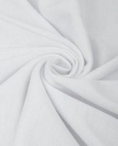 Ткань для пиджака джерси цвет белый