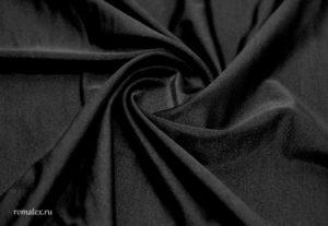 Ткань бифлекс цвет черный