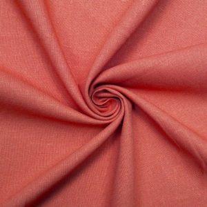 Ткань трикотаж вискоза цвет коралловый