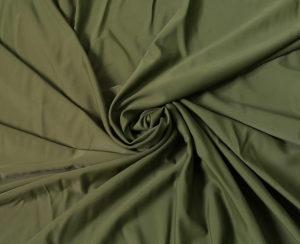 Ткань для купальника бифлекс матовый хаки