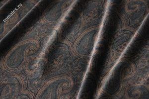 Ткань пан бархат «огурцы»