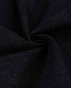 Ткань джинса стрейч цвет черный