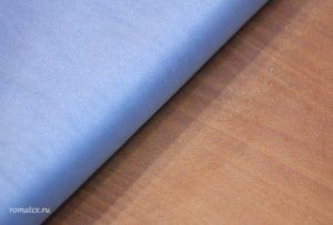 Ткань сетка металлик цвет голубой