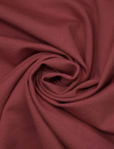 Ткань джерси цвет терракот