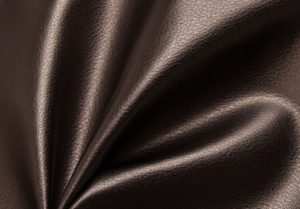 Ткань для обивки мебели  кожзам стрейч цвет кофе