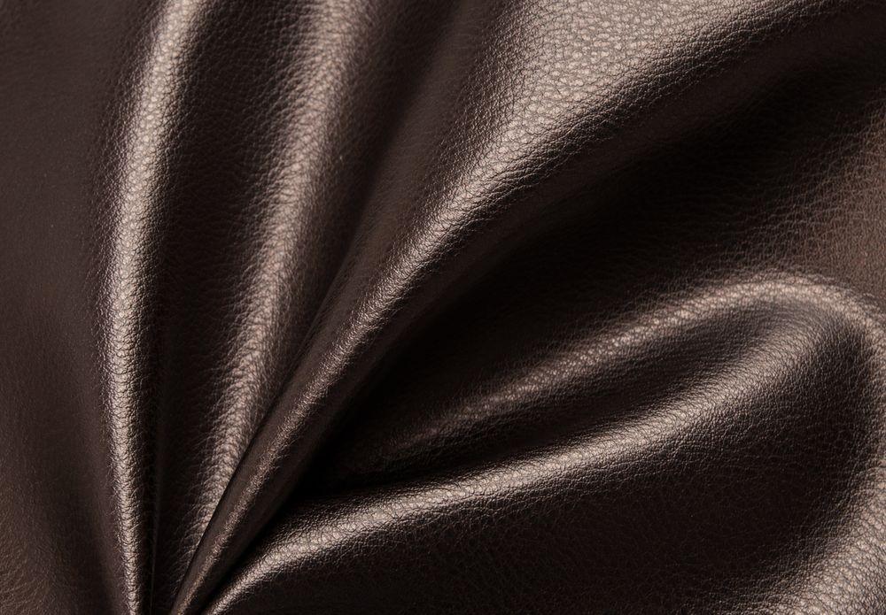 Ткань кожзам стрейч цвет кофе
