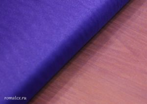 Ткань сетка металлик цвет васильковый