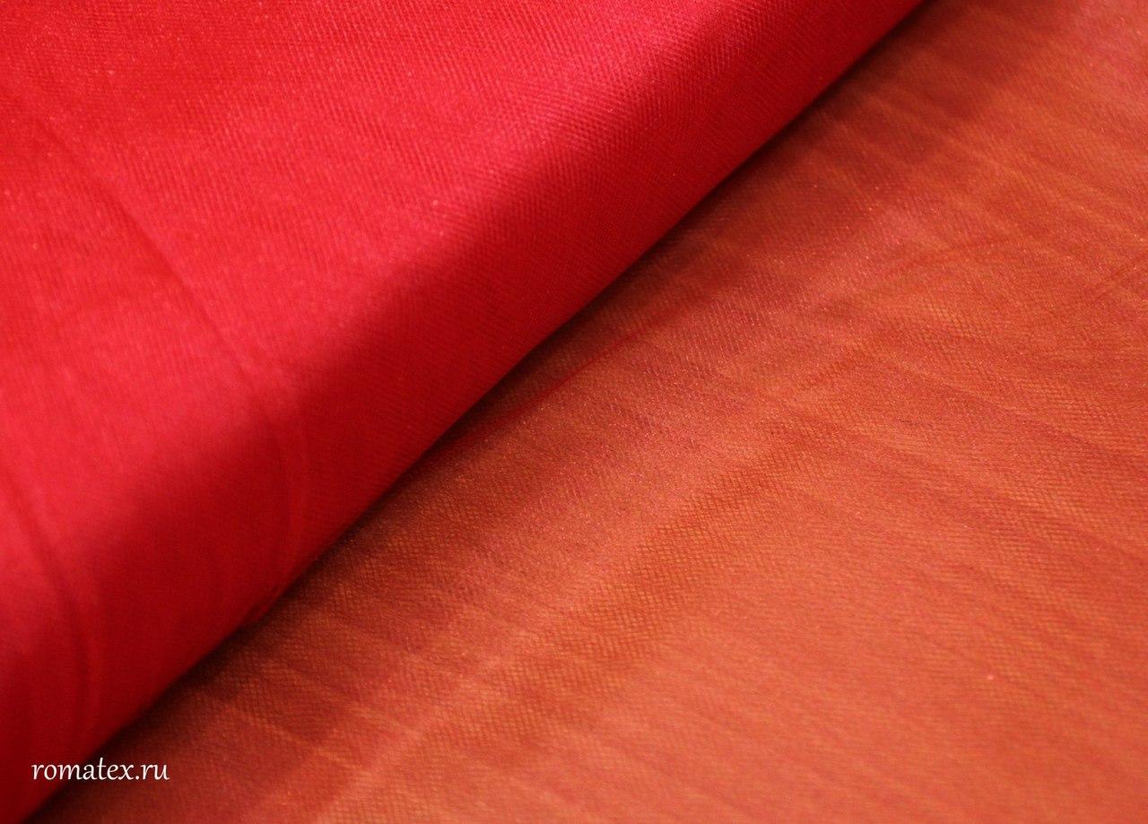 Ткань сетка металлик цвет красный