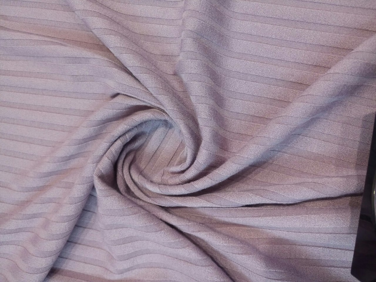 Ткань трикотаж лапша цвет кофейный