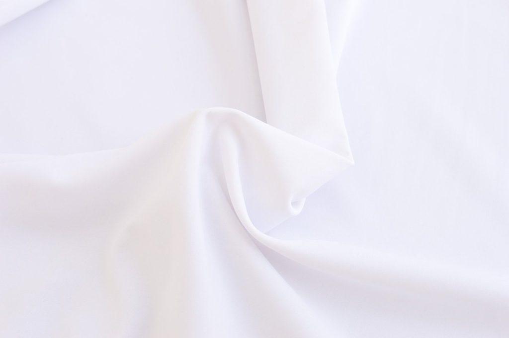 Ткань бифлекс матовый белый