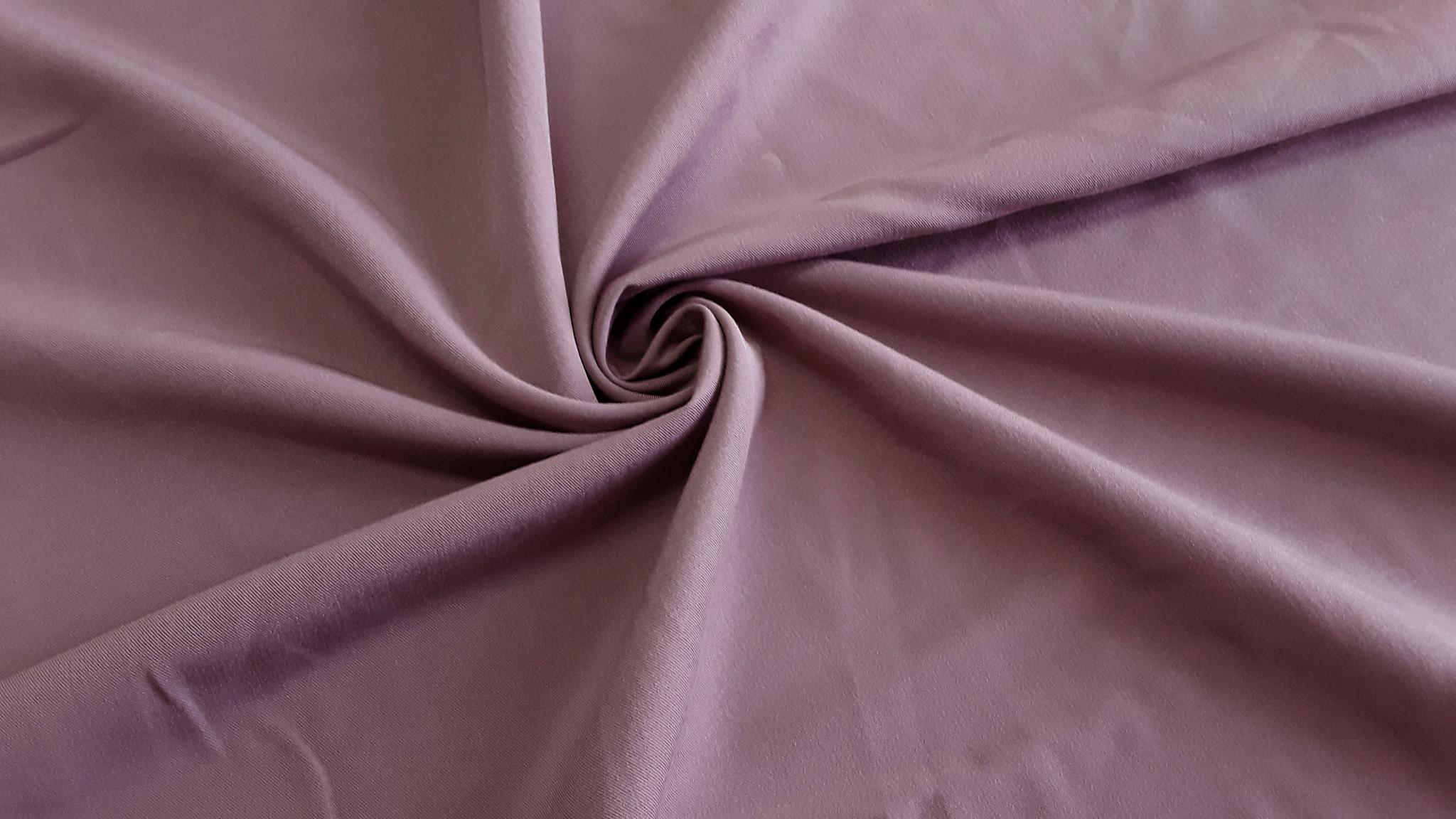 Ткань шифон микровискоза цвет темно пыльная роза