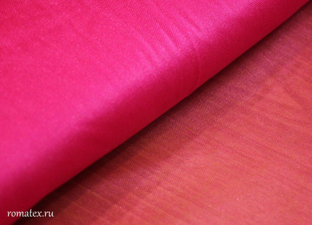 Ткань сетка металлик цвет розовый