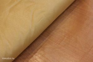 Ткань сетка металлик цвет золотой