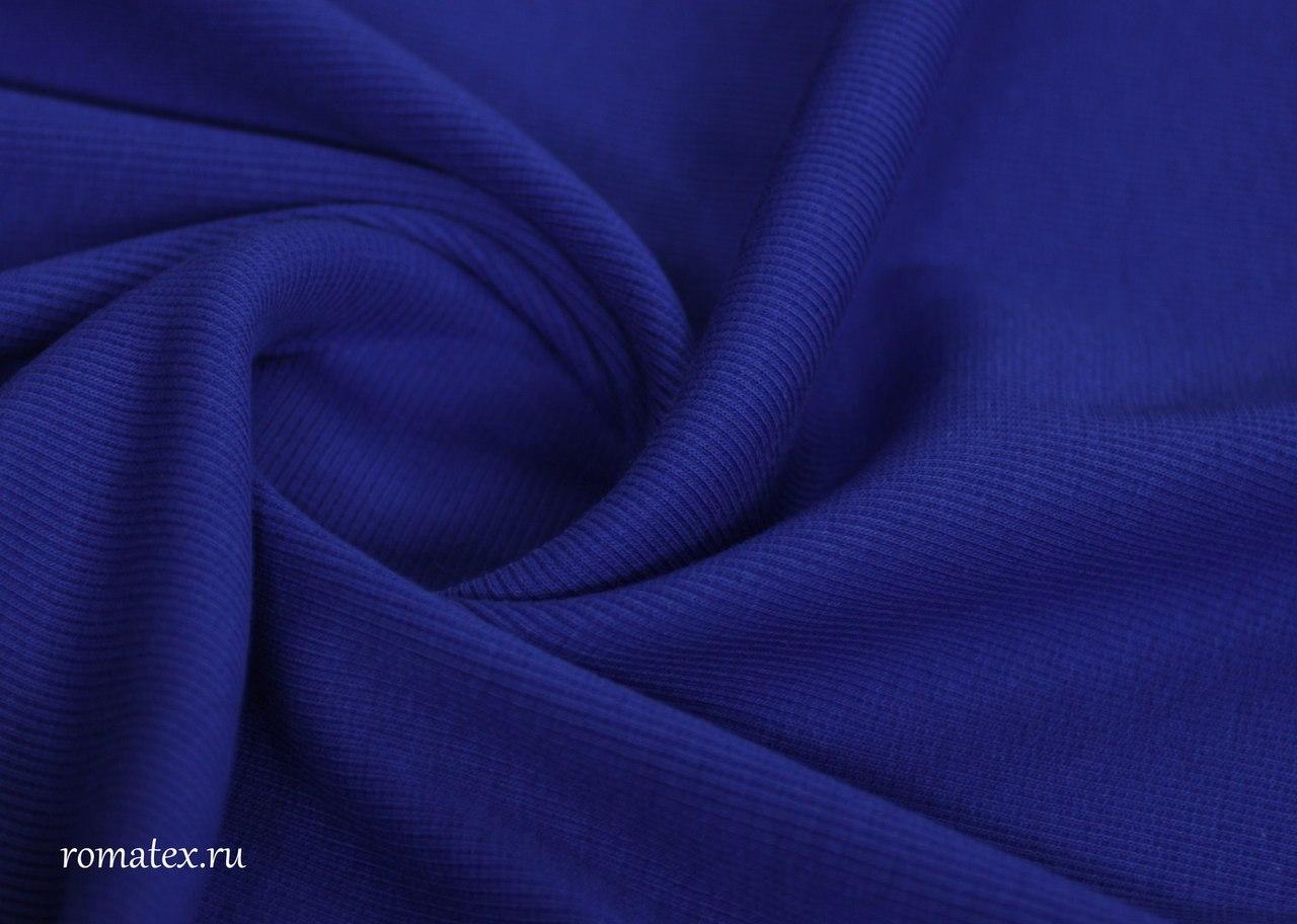 Ткань варенка пальтовая цвет василек