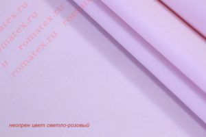 Ткань неопрен цвет светло-розовый