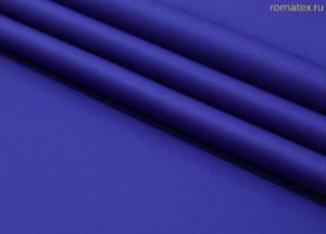 Ткань неопрен цвет васильковый