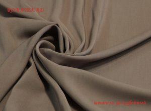 Ткань штапель цвет кофейный