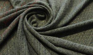 Ткань ангора с люрексом цвет хаки