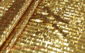 Ткань пайетки бразильские цвет золото