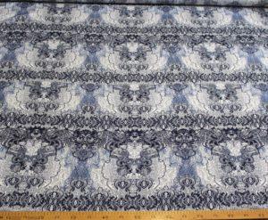 Ткань штапель вензель джинс серый