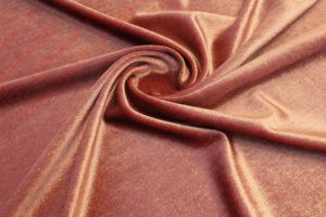 Ткань бархат металлик цвет пыльная роза