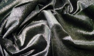 Ткань бархат металлик цвет черный