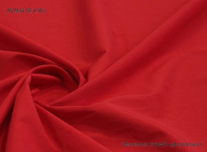 Ткань бенгалин цвет красный