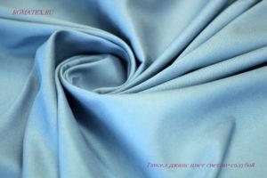 Ткань тенсель цвет светло голубой