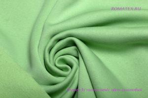 Ткань футер начёс качество компак пенье цвет салатовый
