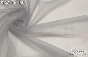 Ткань еврофатин цвет серый